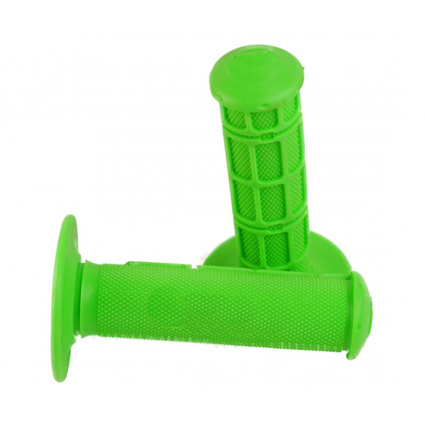 MX green rubber handles grip for dirt bike