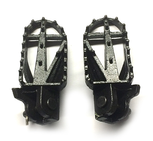 Footpeggs steel mold for pit bike