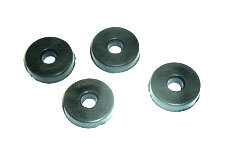 4 rubber washers 6x18x4mm