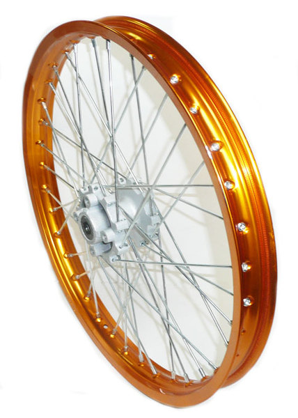 Front wheel 21''gold alloy AGB30, AM-D8, XB30, RX250