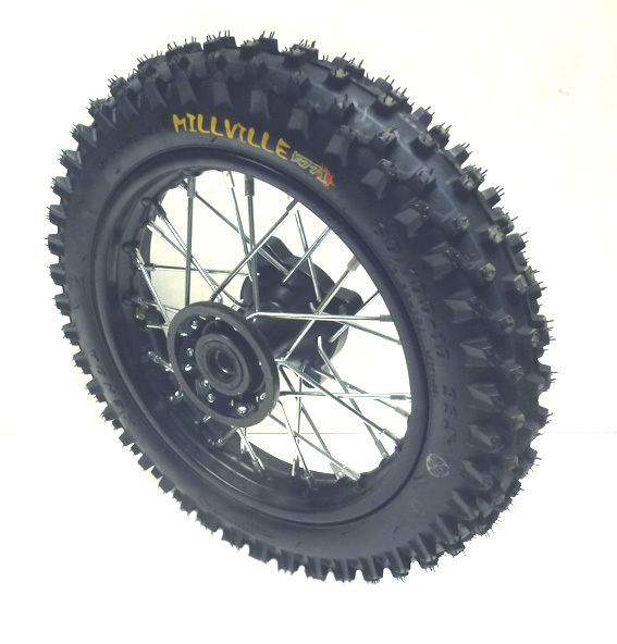 Front wheel 10'' with Millville tire