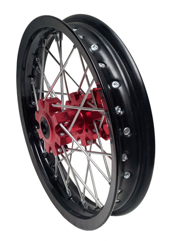 Front wheel 12'' RED-ONE for MX use