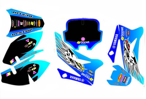 Stickers set YAMAHA plastic form LXR and TTR110