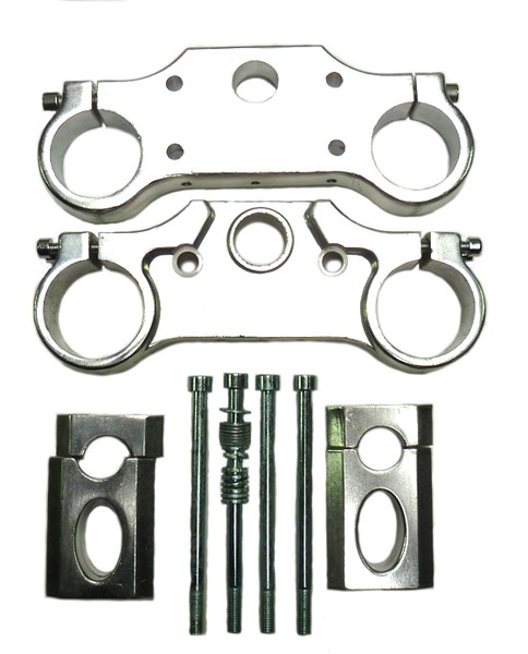 Triple clamp alloy forged arms fixing 45/48mm
