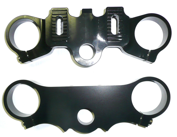 LXR large triple clamps pair for Motard rim -2.50/2.75''-