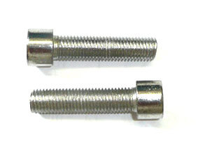 2 screws CHC M10 x 40 -thread 125-